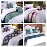 Luxury Duvet Cover Two Layer Bed Runner Single Double King Tail Flag Bedding Mat