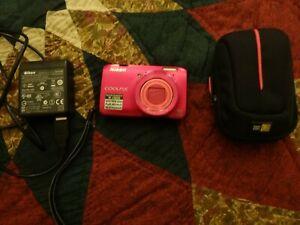 Nikon COOLPIX S6300 16.0MP Digital Camera - Red