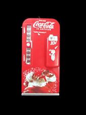 Coca-Cola Kurt Adler Vending Machine Holiday Christmas Ornament Santa w/ Bottle
