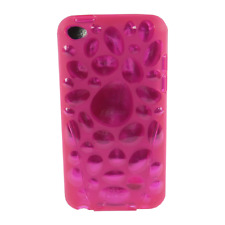 iSkin - Pebble - flexible slim-fitting cover - hülle - iPod touch 4 - cosmo