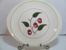 BLUE RIDGE SOUTHERN POTTERIES RIDGE MOUNTAIN CHERRIES HERMITAGE PLATTER