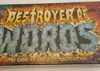 Destroyer Of Words Board Game