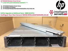 "HP MSA60 Modular Smart Array With Rail Kit 12x 3.5"" Drive Bays P/N: 418408-B21"