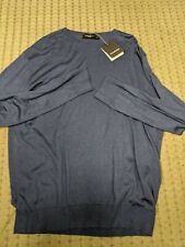 Ermenegildo Zegna Mens Zegnasilk Sweater Size 58 XXL $1000 NEW nwt