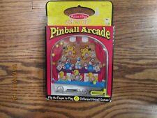 New Melissa & Doug On the Go Pinball Arcade Travel Game - Fast shipping!!