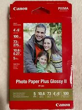 OPEN BOX Canon Pixma Photo Paper Plus Glossy II PP-201 - 90 sheets