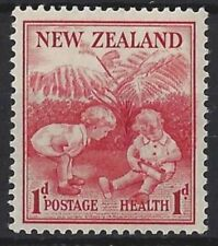 Mint Hinged Cats New Zealand Stamps