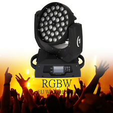 36x10W RGBW 4in1 LED Zoom capa commovente della fase -Luce Moving Light 16CH