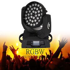 36x10W RGBW 4in1 LED Zoom capa commovente della fase -Luce Moving Light 16CH