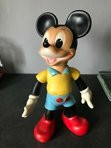 ancienne figurine Grand Pouet Mickey walt disney productions 1962 vintage Ledra
