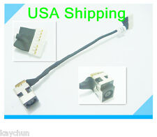 DC power jack in cable harness for HP Pavilion G56-125 G56-126 G56-127 G56-141