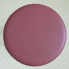 Pu Leather Round Bar Stool Cover Chair Seat Cushion Pad Covers Protector Elastic
