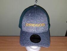 Oregon Ducks Green and Gray Adjustable New Era NCAA Hat New