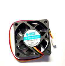 Case Fan 12V 60mm x 60mm x 15mm Brushless PC Fan cooler 3 pin HXS- Aussie Seller