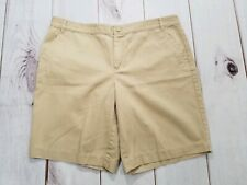 American Living Chino Tan Shorts Womans Size 14