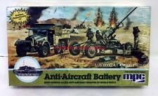 MPC~6209~1/76~Anti-Aircraft Battery~Allied Gun w/Truck~WW2~Model Kit~Sealed