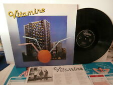 "vitamine""vrp song""lp12""or.fr.+insert.séphora/mayim:mad116 de 1985 rare"