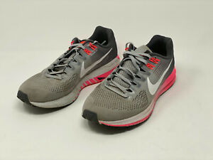 USED Women's Nike Structure 21 (grey/pink) SIZE 10