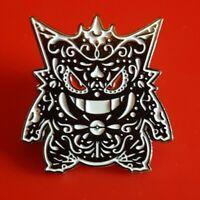 Gengar Pin Pokemon Day of the Dead Halloween Candy Skull Enamel Brooch Badge
