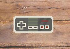 8bit Controller Full Colour Print Retro Gaming Wall Art Decor Vinyl Sticker