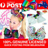 JoJo Bow Jo Jo Siwa Large Girl Hair Clip Gift Rainbow Paint Heart Star LICENSED