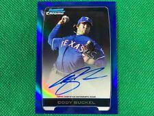 2012 Bowman Chrome Prospect Autographs Blue Refractors #CBU Cody Buckel 082/150