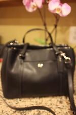 COACH Peyton Leather Double Zip Carryall/Purse Handbag–F25669 (PU300