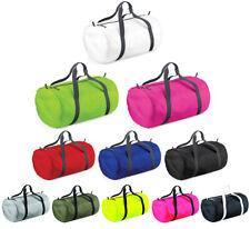 Kleine Reisetasche Barrel Bag Sporttasche  Faltbare Trainingstasche