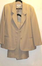 16 Dove Gray Long Skirt Suit NAPA Studio Fully Lined
