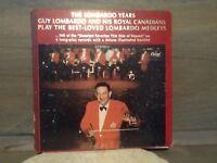THE LOMBARDO YEARS-Guy Lomabardo & His Royal Canadian 4-LP Record Set Capitol