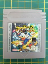 GAME BOY GAMEBOY COLOR GB GAME JEU DUCKTALES 2 LA BANDE A PISCOU DMG-D7-FAH
