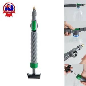 High Pressure Air Pump Manual Sprayer Adjustable Nozzle Garden Watering Tool