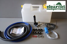 Plumbing Kit for Campervan Sink,Tap & Pump & 12l Water Container Suit Smev 8005