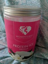 Women's Best Protein ICE Powder Vanilla (opened) Only One Serving Used Exp 11/19