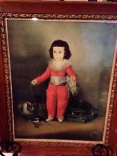 Antique Vintage Manuel Osorio Manrique de Zuniga Francisco Goya Print