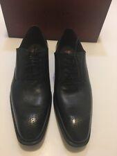 New MEZLAN Hawking 16730 Black Medallion Toe Oxfords Shoes Size 11