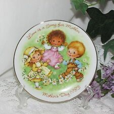 "AVON MOTHER'S DAY MINIATURE COLLECTOR PLATE LOVE IS A SONG 5"" TRINKET DISH 1983"