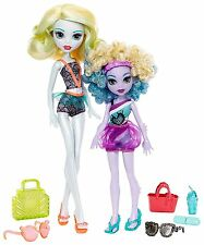 Monster High Monster Family LAGOONA BLUE and SISTER KELPIE BLUE Dolls 2 Pack Set