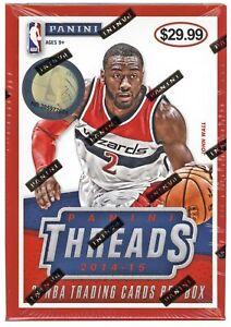 2014/15 Panini Threads Basketball Blaster Box Sealed Rookie Threads (Quantity)