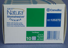 ConvaTec #125273 SUR-FIT Natura Stomahesive Flexible Skin Barrier - Box/10 - New