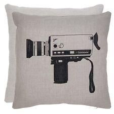 Clayre fed funda de almohada cojín cámara cinemática landhaus nostalgia Shabby 45x45cm