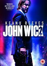 John Wick 2 - Chapter Two + Extras - Keanu Reeves DVD - NEW & SEALED
