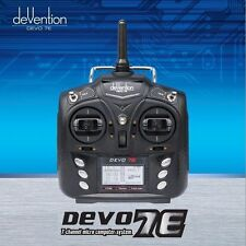 US SHIP Walkera DEVO 7E 2.4G 7CH DSSS Radio Control Transmitter for Helicopter
