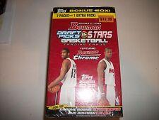 2007-08 Bowman Draft Picks & Stars Basketball Sealed Blaster Box DURANT Rookies?
