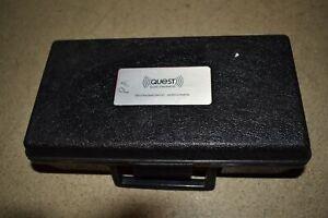 QUEST ELECTRONICS MODEL 211A/FS PERMISSIBLE SOUND LEVEL METER W/ CASE