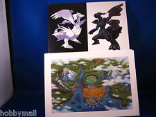 Pokemon Black and White Game Art Folio
