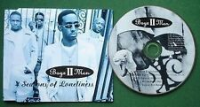 Boyz II Men 4 Seasons of Loneliness CD Single