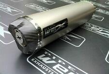 Yamaha Fazer Fzs 600 Titanio Tri Oval, de carbón de salida de escape puede, Camino legal