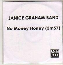 (DB355) Janice Graham Band, No Money Honey - 2011 DJ CD