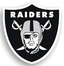 "Oakland Raiders 12"" Car Magnet [NEW] NFL Vinyl Auto Emblem Sticker Decal CDG"